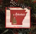 Arkansas Ornament