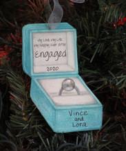 Engaged Diamond Ring