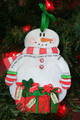 It's the Most Wonderful Time of the Year Personalized Snowman Ornament 3