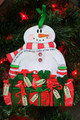 It's the Most Wonderful Time of the Year Personalized Snowman Ornament 7