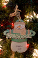 Preschool Snowman Personalized Ornament