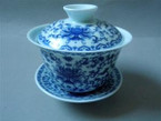 Gaiwan - Chrysanthemum Flower Design - 200ml cap.