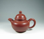 "Yixing Teapot - Da Hong Pao Clay ""Duo Qiu"" - 150ml cap."