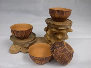 Tree root shaped Yixing cup