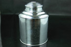 Tea Storage Canister (Tin) - 250g cap.