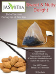 Sweet & Nutty Delight - Pyramid Tea Sachets