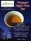 Pleasant Night-Time Tea (Caffeine Free) - 50g