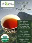 Mountain High Ceylon Tea – 100% Organic – 3.5oz