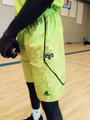 NEON YELLOW OLD STYLE GAME SHORTS