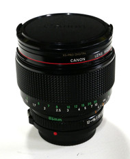 Canon NEW FD 85mm F1.2 L Manual Focus Lens (Used)