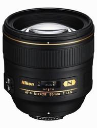 Nikon AF-S 85mm F1.4G Lens (New)