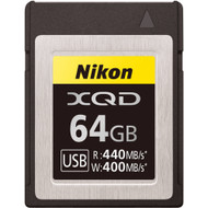 Nikon XQD 64GB Memory Card (New)