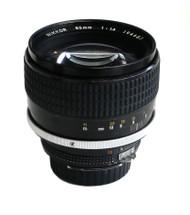 Nikon 85mm F1.4 AI-s Nikkor Lens (Used)