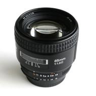 Nikon 85mm F1.8D AF Nikkor Lens (Used)