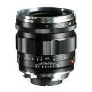 Voigtlander 50mm F/2 Apo Lanthar VM Lens Black (Brand New)