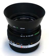 Olympus G.Zuiko 28mm F3.5 Auto-W Lens (Used)