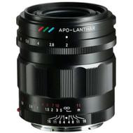 Voigtlander Apo-Lanthar  35mm F/2 Aspherical Lens for E Mount - Black (Brand New)