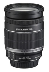 Canon EF-S 18-200mm F3.5-5.6 IS Lens (S/H)