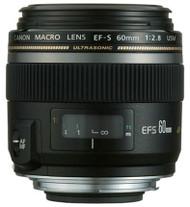 Canon EF-S 60mm F2.8 Macro USM Lens (Used)