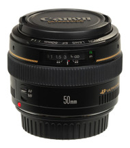 Canon EF 50mm F1.4 USM Lens (Used)