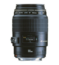Canon EF 100mm F2.8 USM Macro Lens (Used)