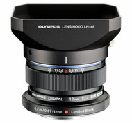 Olympus 12mm F2 M. Zuiko Digital ED Black Lens (New)