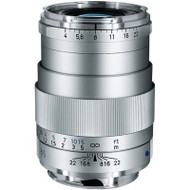 Zeiss Tele Tessar T* 85mm F4 ZM Silver Lens (New)