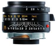 Leica 35mm F2 Summicron-M Asph Lens Black (Used)