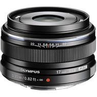 Olympus M. Zuiko Digital 17mm F1.8 Lens Black (Demo)