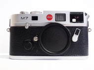 Leica M7 TTL 0.72 Silver Chrome Body (New)