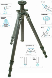 Gitzo GT3531 Tripod Mountaineer Series 3
