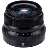 Fujinon XF 35mm F2 R WR Lens Black (New)
