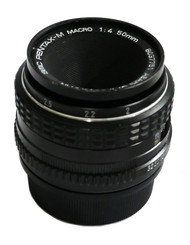 SMC Pentax-M 50mm F4 Macro Lens (Used)