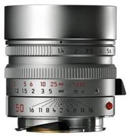 Leica 50/F1.4 Summilux-M Asph Lens Silver (New)