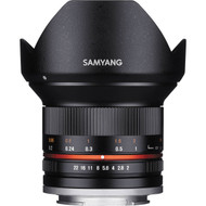 Samyang 12mm F2 .0 UMC II APS-C Fuji X - Black (New)