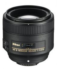 Nikon AF-S 85mm F1.8G Lens (New)