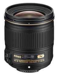 Nikon AF-S 28mm F1.8G Lens (New)