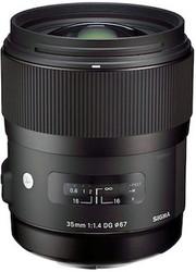 Sigma AF 35mm F1.4 DG HSM Nikon Lens (New)