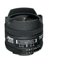 Nikon AF 16mm F2.8D Fisheye Lens (New)