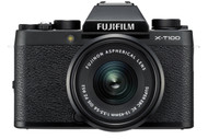 Fujifilm X-T100 Mirrorless Digital Camera with 15-45mm Lens - Black (New)
