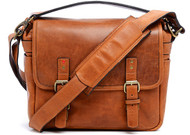 ONA Berlin II Messenger Leather - Vintage Bourbon (New)