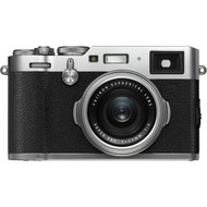 Fujifilm X100F Silver Camera - New ($150 Cash Back)