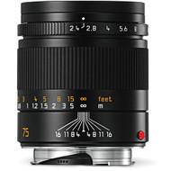 Leica Summarit-M 75mm F2.4 Black (New)
