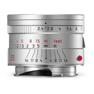 Leica Summarit-M 35mm F2.4 Asph. Lens Silver (New)