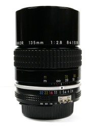 Nikkor 135mm F/2.8 AI Manual Focus Lens (Used)