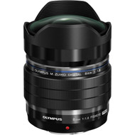 Olympus PRO 8mm F1.8 Fisheye Lens Black (New)