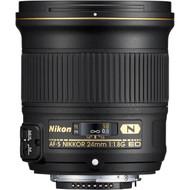 Nikon AF-S 24mm F1.8G ED Lens (New)