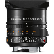 Leica Summilux-M 28mm F1.4 ASPH. Black Lens (New)