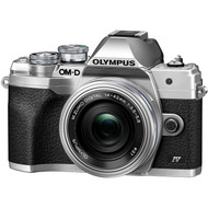 Olympus OM-D E-M10 Mark IV with 14-42mm Lens Kit - Silver (New)