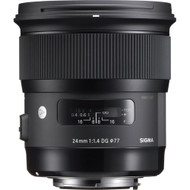 Sigma AF 24mm F1.4 DG HSM (A) Lens for Nikon (New)